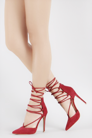 Lace-up Pumps